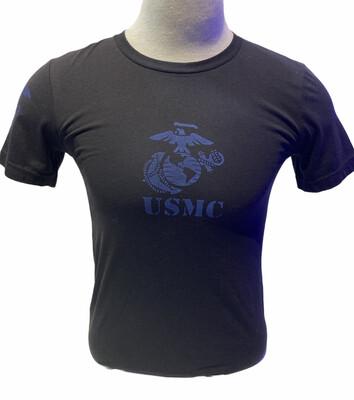 USMC EGA S/S Black