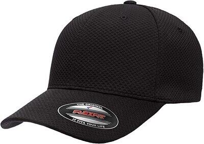 Hats Jersey Flex Fit Black