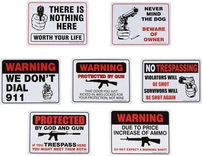 Metal Signs 10X14