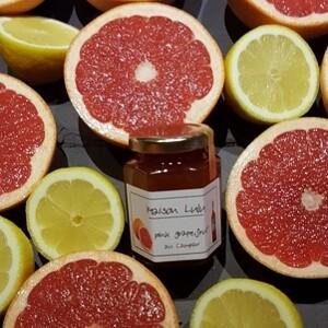 Pink Grapefruit mit Campari / Gourmet-Konfitüre