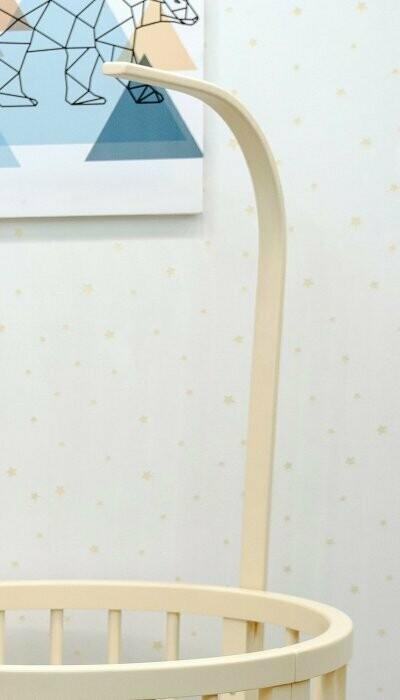 Држач за завеса или играчка за креветче трансфоремер 8во1