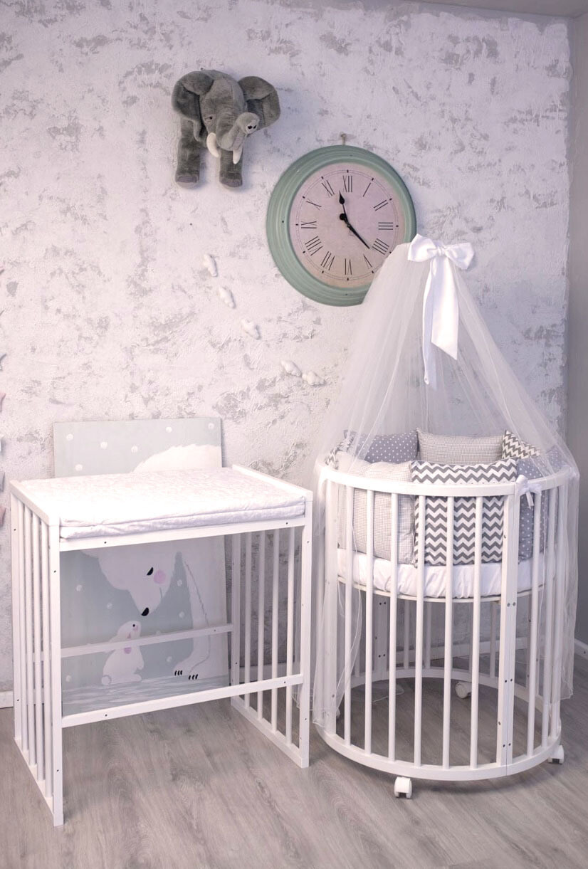 Водоотпорен душек правоаголен за маса за повивање