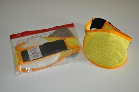 Yellow/Gold Fire Mask Set
