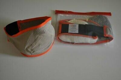 Khaki/Orange Fire Mask Set