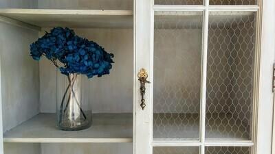 Jarrón hortensias preservadas