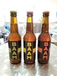 Bier BAAM 3 flessen (blond/bruin/IPA)