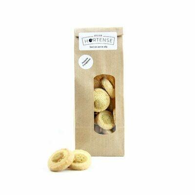Droge voeding: Atelier Hortense pistache-frangipane koekjes