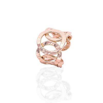 Anello rigido Unoaerre in bronzo rosè