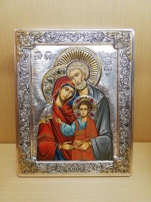 Icona Sacra Famiglia - Serigrafia -