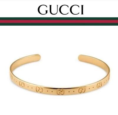 Bracciale rigido Icon in oro giallo Gucci