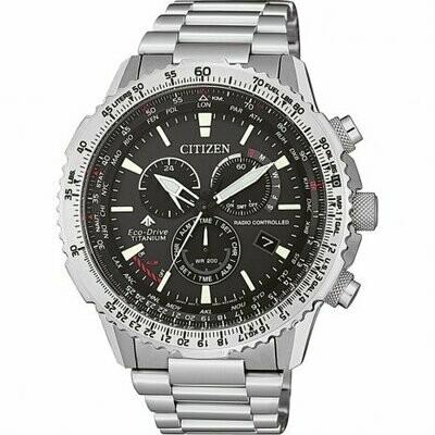 orologio multifunzione uomo Citizen Pilot