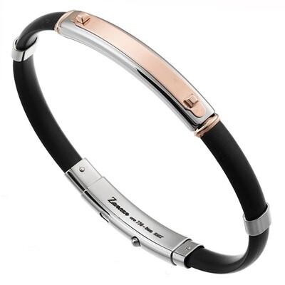 Bracciale Zancan acciaio e oro rosa 18kt, NEW ROBERTINOX