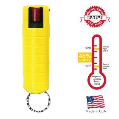 Streetwise 18 Pepper Spray- Yellow