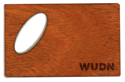 Wooden Credit Card Bottle Opener   Handcrafted WUDN