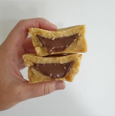 Nutella Cookie Pie