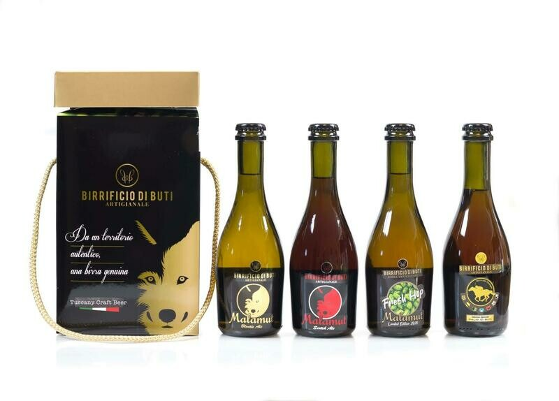 Box  birre 33 cl Birrificio di Buti