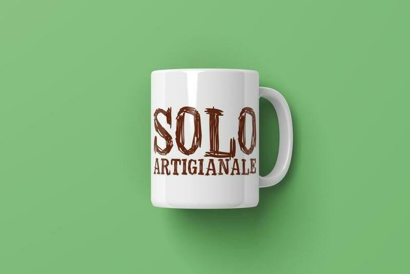 """Tazza """"mug"""" Solo Artigianale"""