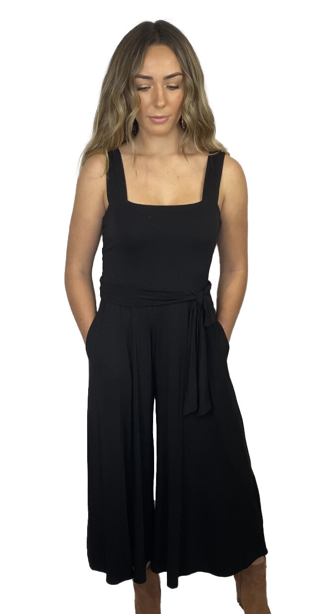 Charlotte Jumpsuit (BLACK)