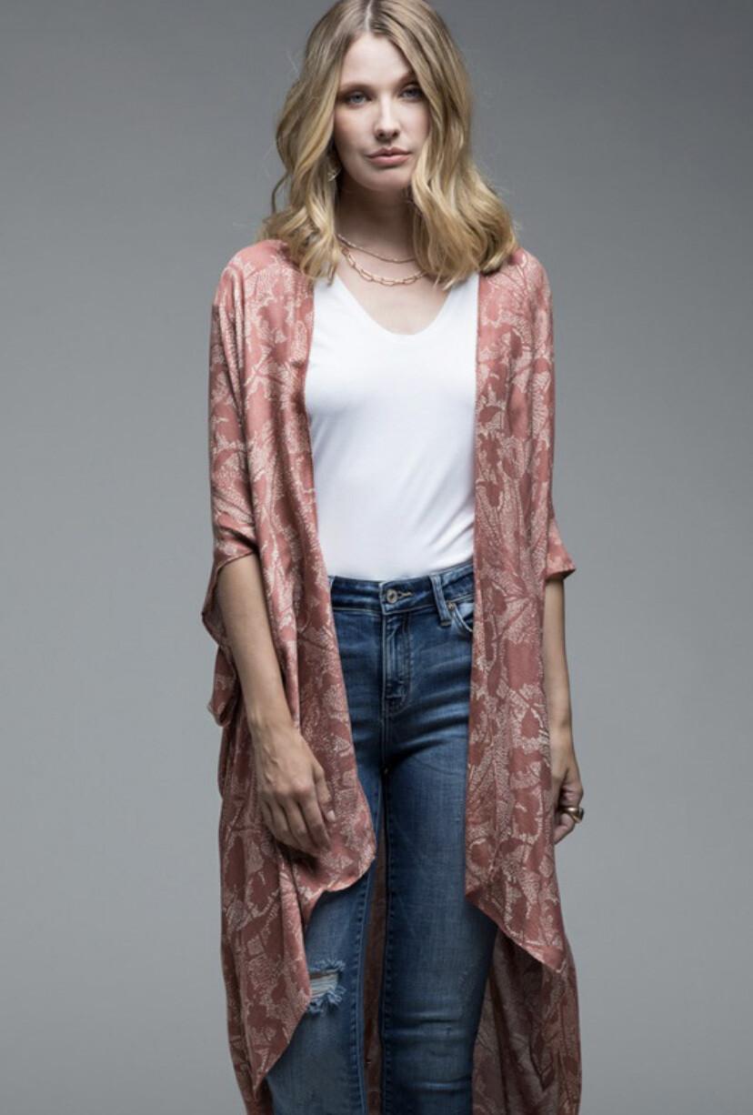 Kimono (Creme Rose)