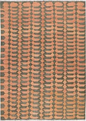 Kelim tapijt: modern design