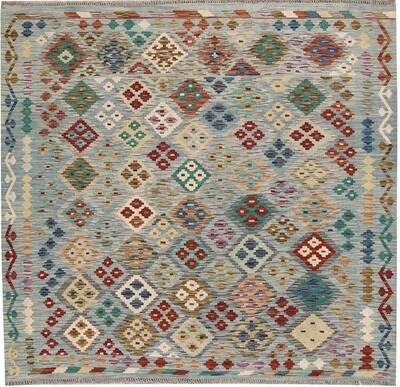 Kelim tapijt: vierkant 2