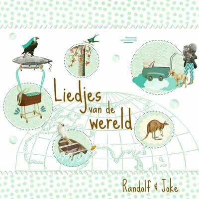 Cd Randolf & Joke: Liedjes van de wereld