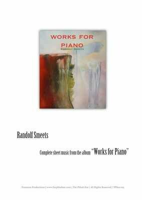 Bladmuziek van album Works for Piano (+MP3)
