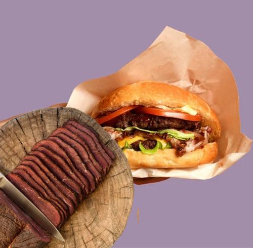 Le Pastrami Burger