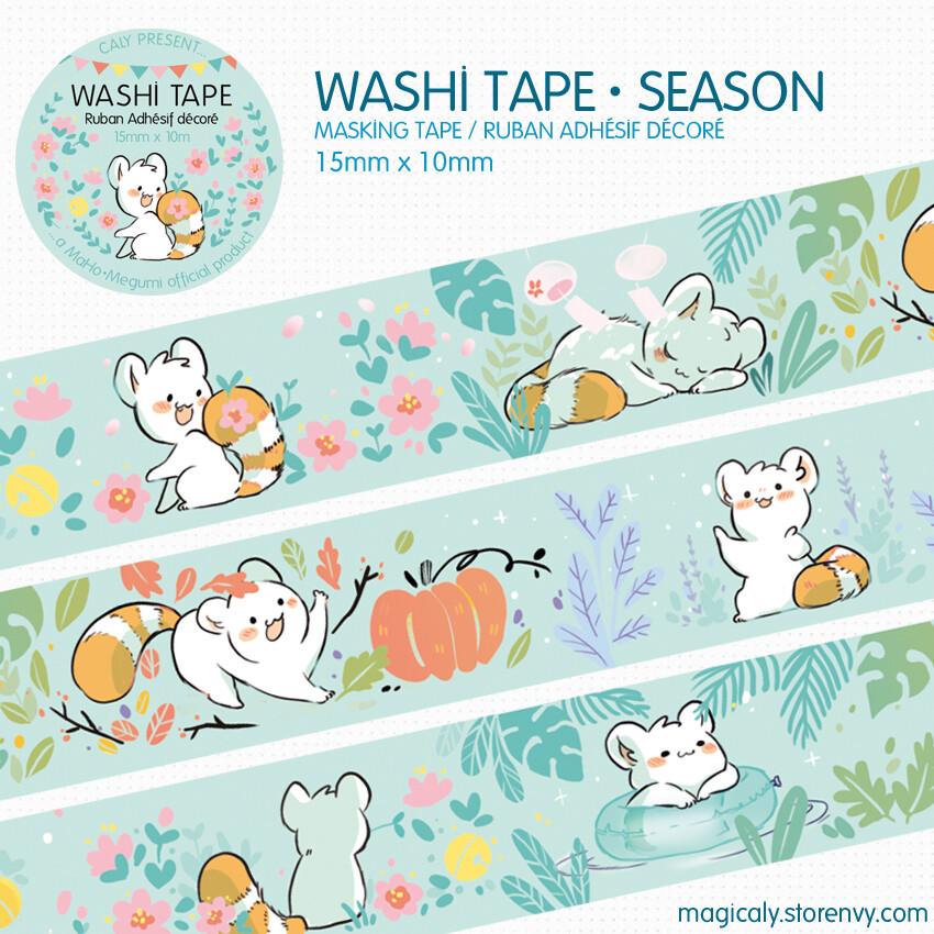 Washi Tape •Saisons