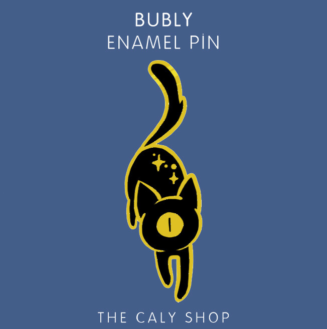Enamel Pin • Bubly