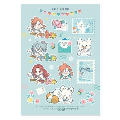 Feuille de Sticker • MaHo-Megumi