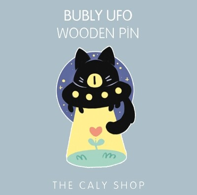 Pin en bois • Bubly UFO