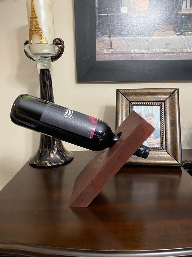 Floating Wine Bottle Holder