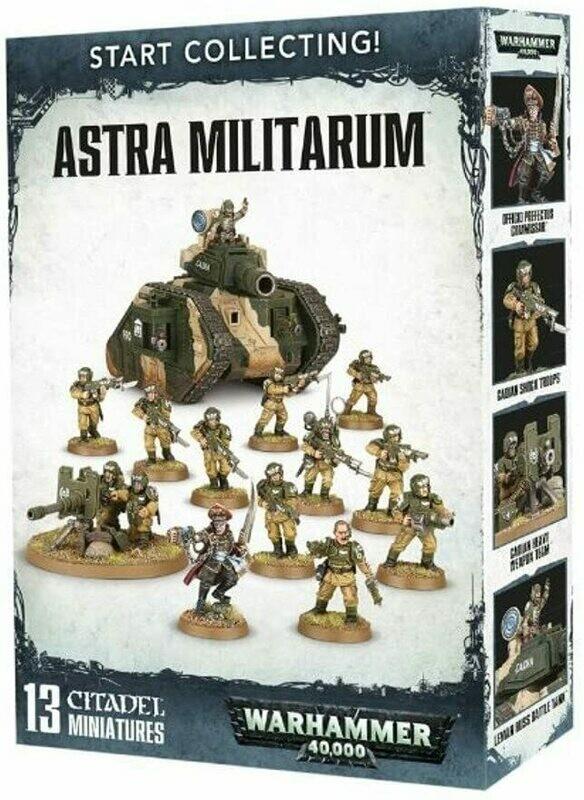 Astra Militarum - Start Collecting