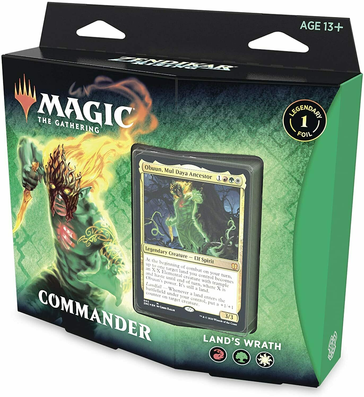 MTG Commander Land's Wrath