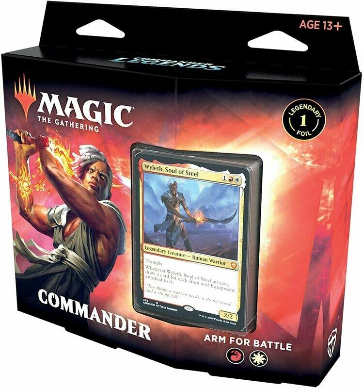 MTG Commander Arm For Battle