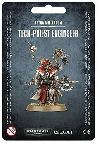 Astra Militarum Tech-Priest Engine Seer