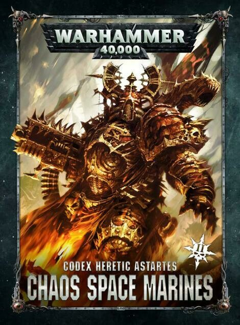 Codex Heretic Astartes Chaos Space Marines
