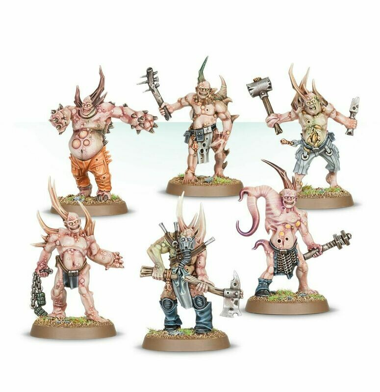 Death Guard Poxwalkers