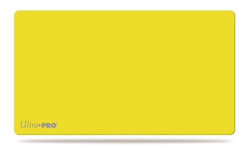 Ultra Pro Play Mat Solid Yellow Matte