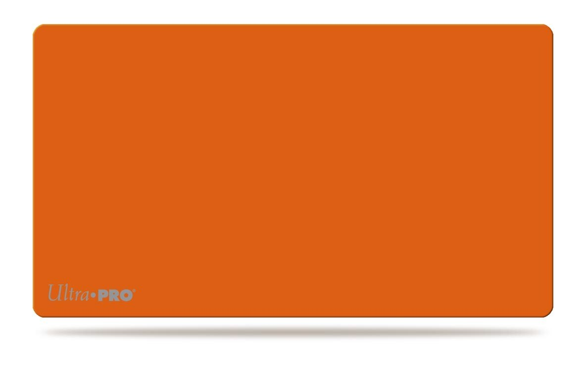Ultra Pro Play Mat Solid Orange Matte