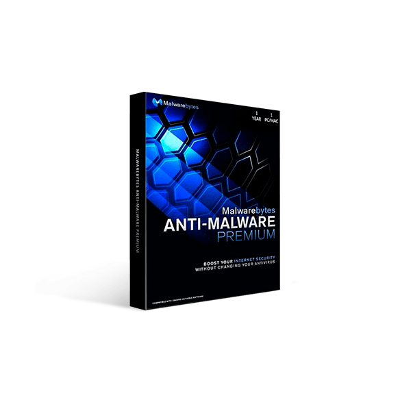 Malwarebytes Premium Security 1 year Mac/Windows/PC