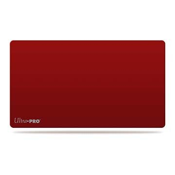 Ultra Pro Play Mat Solid Red Matte
