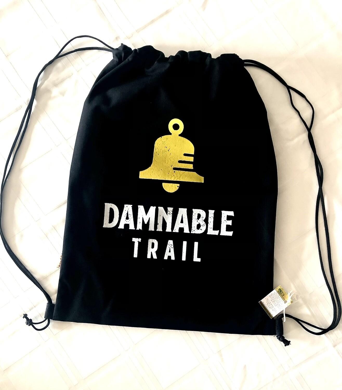 Drawstring Canvass Backpack Bag