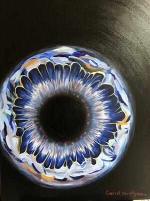 """Iris"" Oil on Canvas 40X30inch"