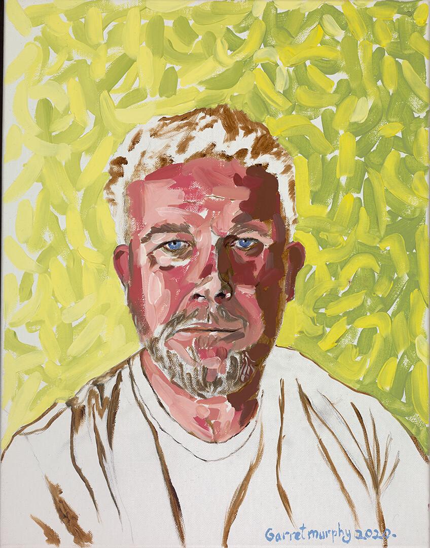 "Original ""Self portrait"" Oil on Canvas 18X14inch"