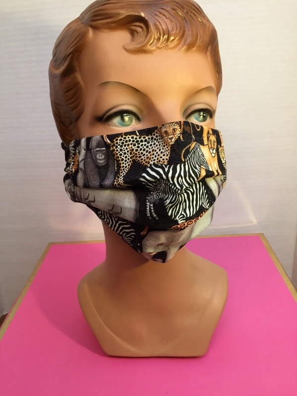 Jungle Animals Face Mask