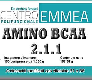 Amino (BCAA 2:1:1) - 150 cpr da 1,05 gr