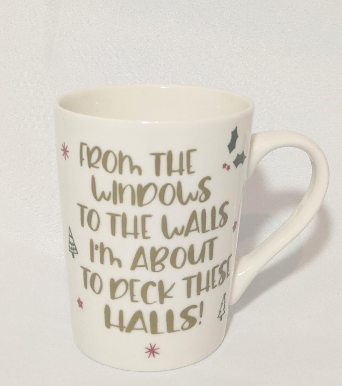 """Windows To The Walls"" Mug PLUS Hot Chocolate Bombs"