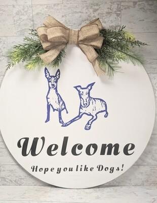 Personalized Animal Door Sign